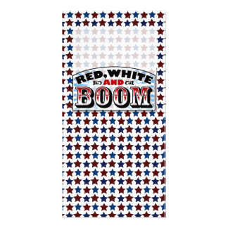 4th of July Template Photo Greeting Card