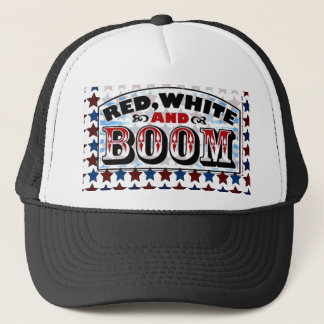 4th of July Template Trucker Hat