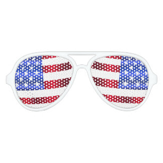 4th of July, USA Flag, Stars & Stripes Sunglasses