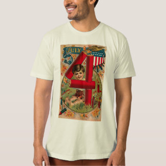 4th of July - Vintage Art T-Shirt