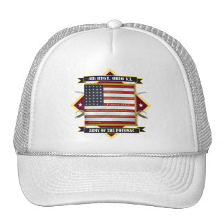 4th Ohio Volunteer Infantry Trucker Hat
