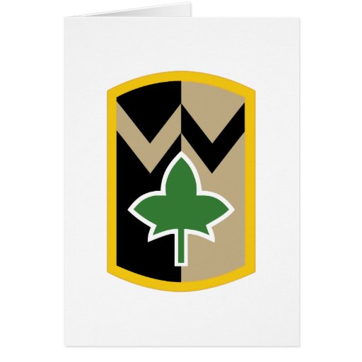 4th Sustainment Brigade Greeting Card