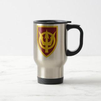 4th Transportation Command 15 Oz Stainless Steel Travel Mug