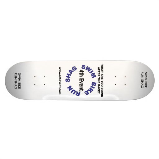 4thevent-logo-web-large, SWIM BIKE RUN SHAG, SW... Skate Board