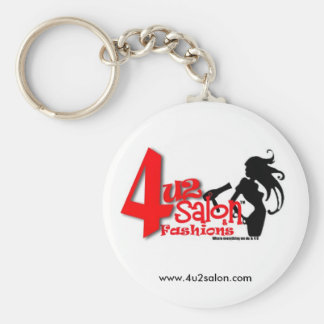 4u2 Salon Keychain