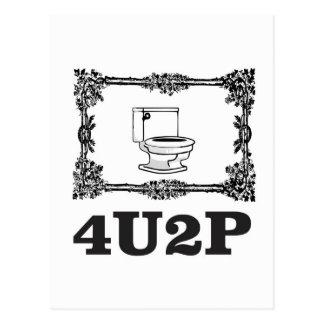 4u2p ornate postcard