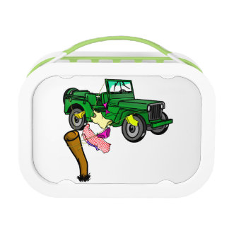 4WD adventue Lunch Box
