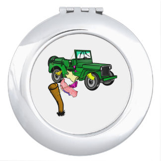 4WD off roading Travel Mirror