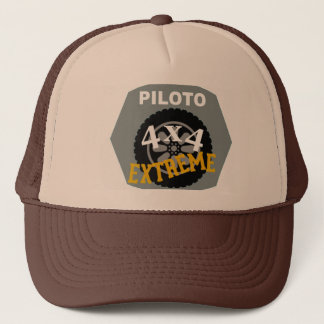 4x4 CARRIES FAR - PILOT Trucker Hat