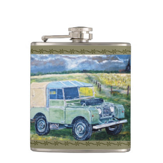 4x4 Design Hip Flask