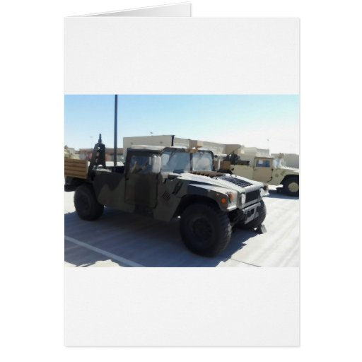 4x4 Military Ride Cards