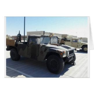 4x4 Military Ride Card