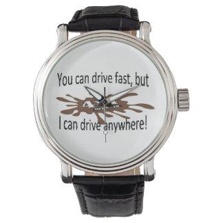 4x4 off road drive anywhere wrist watch