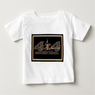 4X4 Rig Up Camo Baby T-Shirt
