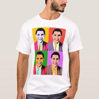 4x Barack Obama - Pop Art T-shirt