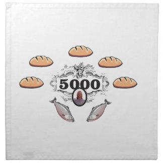 5000 fed miracle jc napkin