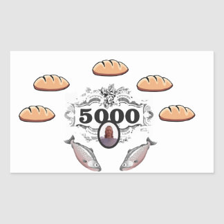 5000 fed miracle jc sticker