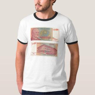 500 Billion Dinar Bill - Yugoslavia T-Shirt