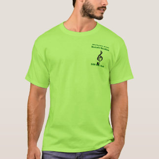 500-Day Club, Lime/Dk. Green T-Shirt