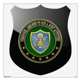 [500] DOD & Joint Activities CSIB Special Edition Wall Decal