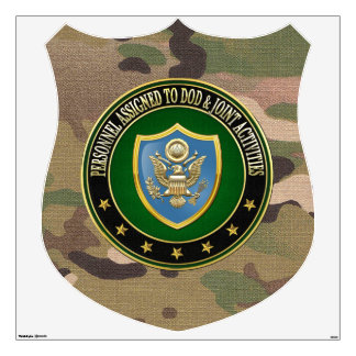 [500] DOD & Joint Activities CSIB Special Edition Wall Sticker