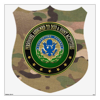 [500] DOD & Joint Activities DUI Special Edition Wall Sticker