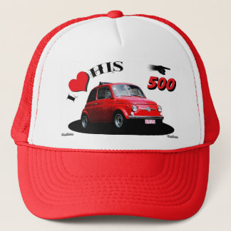 500 pilot trucker hat