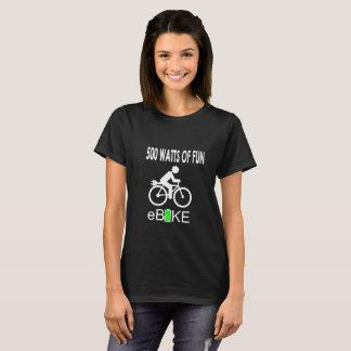 """""""500 Watts  of fun"""" custom t-shirts for women"""