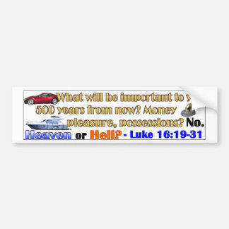 500 years from now bumper sticker