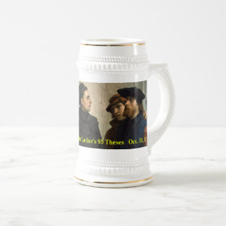 500th Anniv. of Martin Luther's 95 Theses Beer Stein