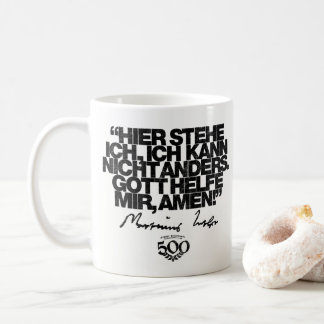 500th Anniversary Reformation Luther Quote Mug