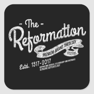 500th Anniversary Reformation Vintage Stickers