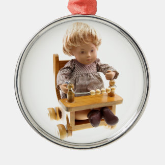 501_Baby_Honey_Blonde_Sandy_0001 Metal Ornament