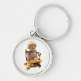 501 Sasha baby blond Sandy key supporter Keychain