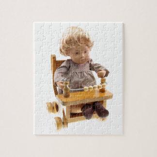 501 Sasha baby Honey blond Sandy puzzle