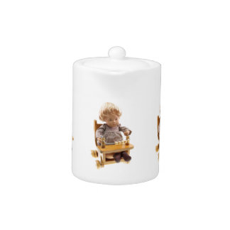 501 Sasha baby Honey blond Sandy tea jug