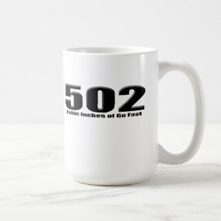 502 Chevy Big Block Crate Coffee Mug