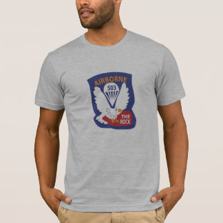 503rd PIR Pocket Patch T-shirts