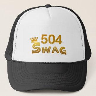 504 Louisiana Swag Trucker Hat