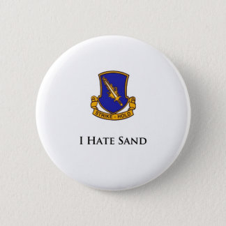 504th- I Hate Sand 2 Inch Round Button