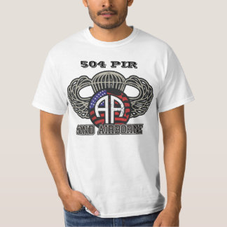 504th PIR 82nd Airborne Division T-Shirt