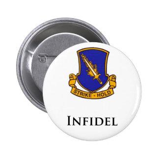 504th PIR- Infidel Pinback Buttons