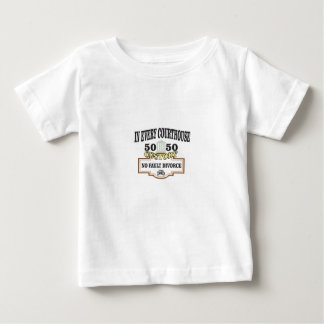 50 50 custody in every courthouse baby T-Shirt