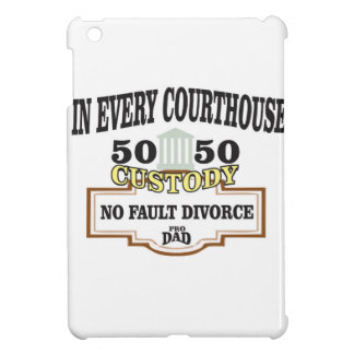 50 50 custody in every courthouse cover for the iPad mini