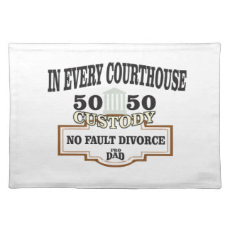 50 50 custody in every courthouse placemat