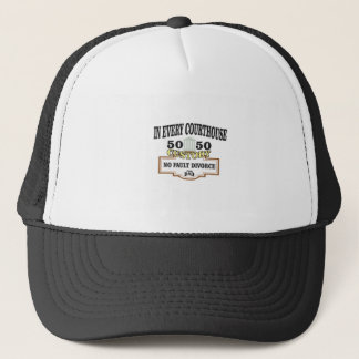 50 50 custody in every courthouse trucker hat