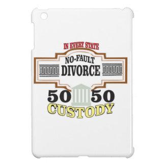 50 50 custody in marriage iPad mini cover
