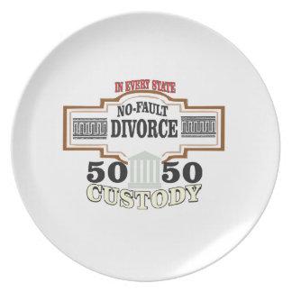 50 50 custody in marriage plate