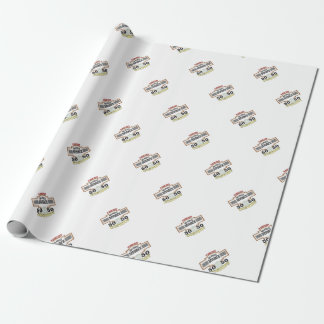 50 50 custody in marriage wrapping paper