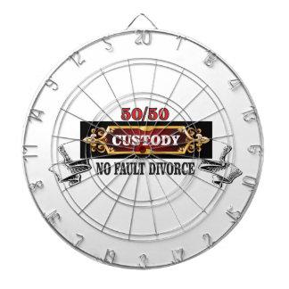 50 50 fathers rights, dartboard